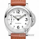 White Panerai model number PAM00113 with small second hand subdial