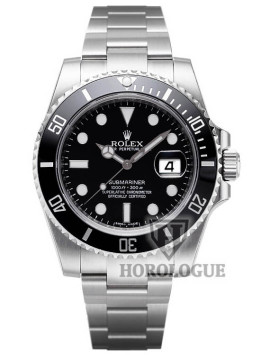 Black Dial Rolex Submariner Watch picture