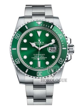 Green Face Rolex Submariner