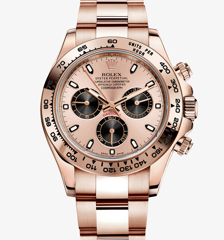 Rose Gold Daytona