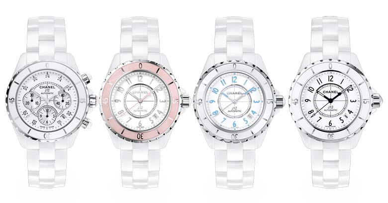 4 chanel j12 watches