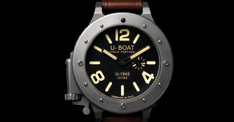 Black U-1942 Watch Model