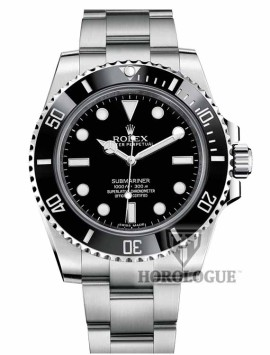 no date black submariner