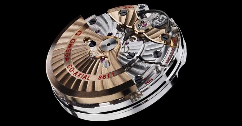 Omega 8611 movement picture