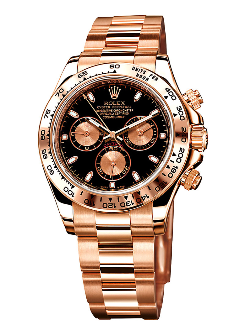 Rolex Everrose Gold Daytona Model 116505