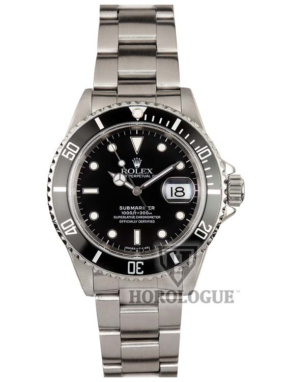 Black Rolex Submariner 16610 picture