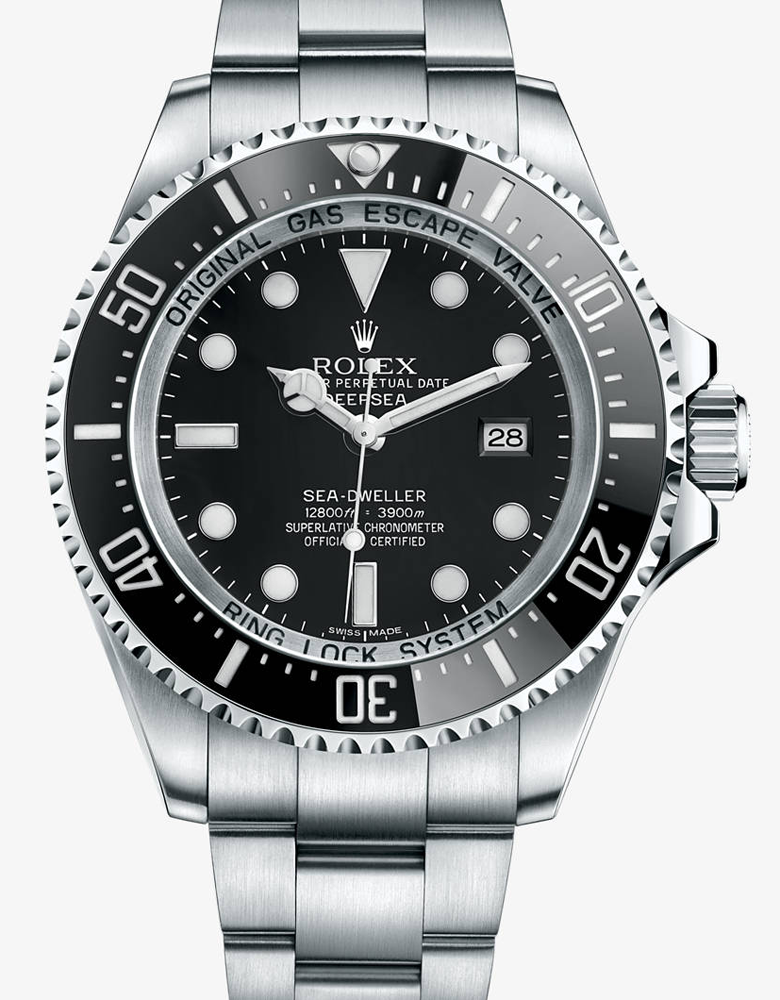 3900 meters Rolex Deep Sea Black Watch
