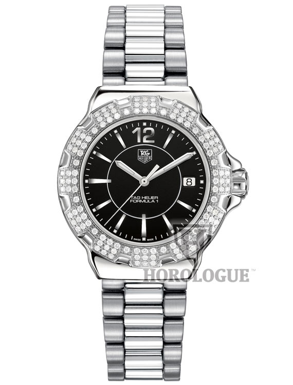 TAG WAH1217.BA0852 diamonds bezel watch