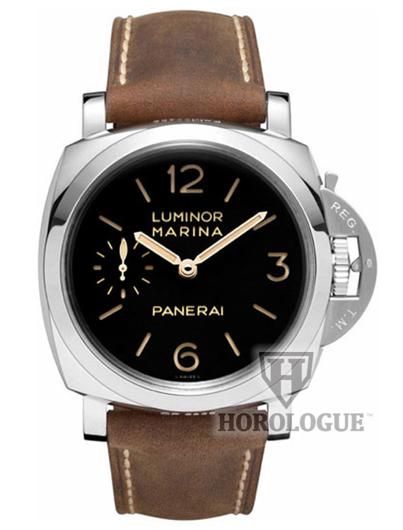 Panerai Luminor 1950 stainless steel and black dial
