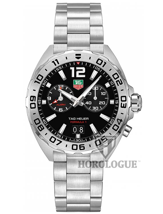 Black Tag Heuer Formula 1 with Chronograph dial