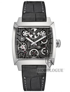 Black Calibre V Tag Heuer watch