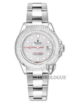 Platinum Bezel rolex yachtmaster ladies
