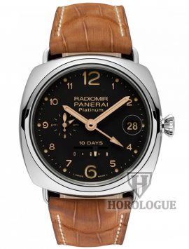 Panerai Officine Radiomir 10 Days GMT Platino