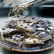 disassembled watch movement