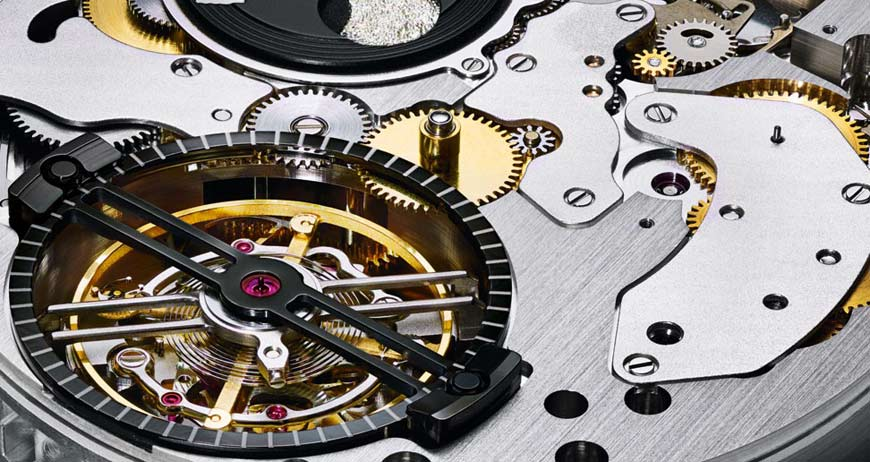 tourbillon with gears