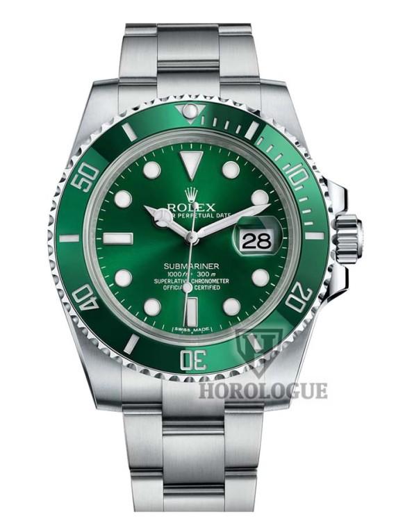 Green Face Rolex Submariner