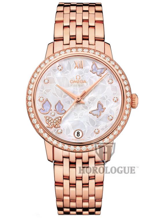 De Ville Batterfly Gold Watch