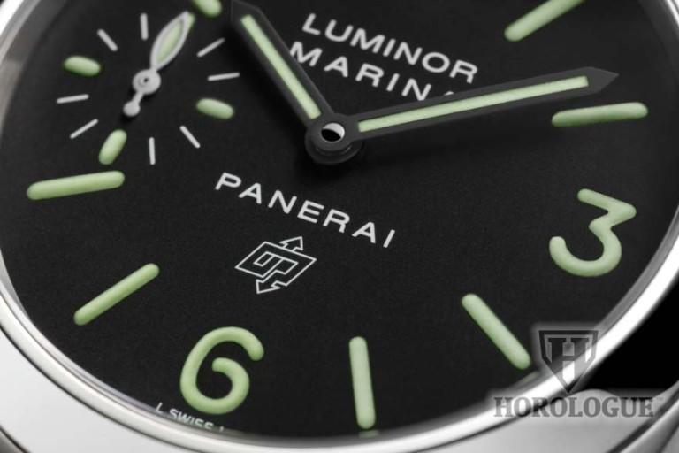PAM00005 dial close-up
