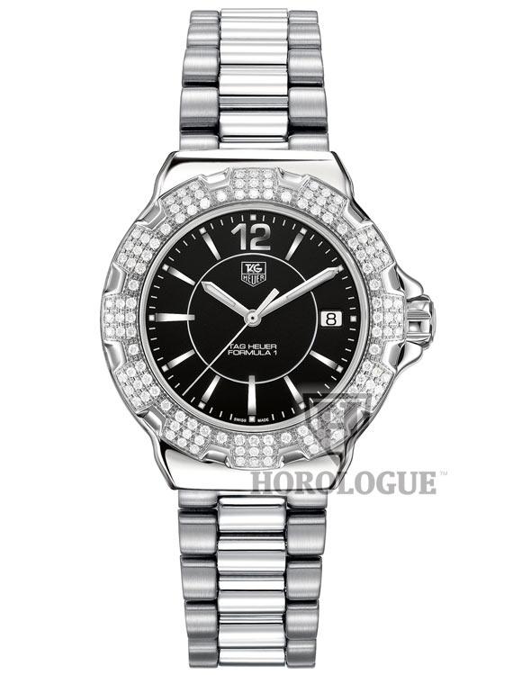 TAG WAH1217.BA0852 diamonds bezel watch