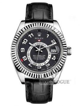 Black dial rolex Sky-Dweller 326139