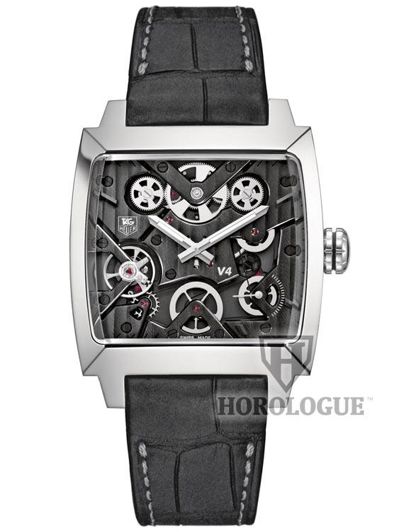 Black Calibre V Tag Heuer watch