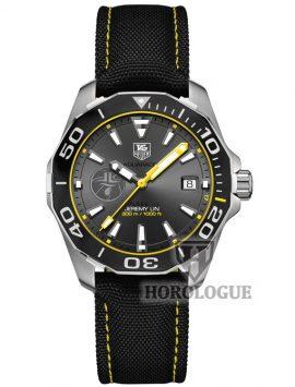 Grey dial with yellow hands Tag Heuer Aquaracer Calibre 5 Model WAY211F.FC6362
