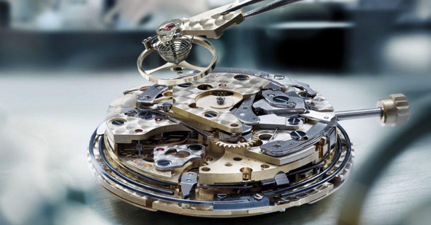 disassembled watch movement